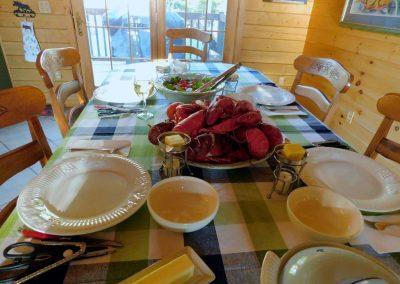 lobster-feed